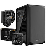Be Quiet Pure Base 500 TG Noir + System Power 9 600W CM + Dark Rock Slim
