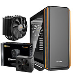 Be Quiet Silent Base 801 TG Orange + Straight Power 11 750W + DARK ROCK 4