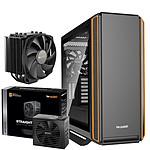 Be Quiet Silent Base 801 TG Orange + Straight Power 11 750W + DARK ROCK 4