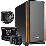 Be Quiet Silent Base 601 Orange + Dark Power Pro 11 650W + DARK ROCK 4