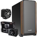 Be Quiet Silent Base 601 Orange + Dark Power Pro 11 650W + DARK ROCK 4