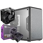 Cooler Master MasterBox Q500L + MWE 550W Bronze V2 + Hyper 212 Black Edition