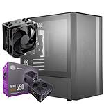 Cooler Master NR400 + MWE 550W Bronze V2 + Hyper 212 Black Edition