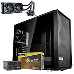 Fractal Design Meshify S2 Black Dark TG + Seasonic Core GM-650 + Celsius S24 Blackout