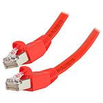 Cable RJ45 Cat 6 S/FTP (rouge) - 1 m