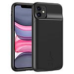 Akashi Coque Batterie 4500 mAh Sans Fil Noire - iPhone 11
