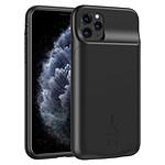 Akashi Coque Batterie 3500 mAh Sans Fil Noire - iPhone 11 Pro