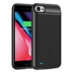Akashi Coque Batterie 3000 mAh Noire - iPhone 8 / 7 / 6
