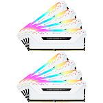 Corsair Vengeance RGB Pro Blanche - 8 x 32 Go (256 Go) - DDR4 3200 MHz - CL16