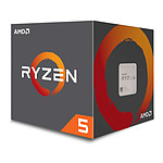 AMD Ryzen 5 1600 AF Wraith Stealth Edition (3,2 GHz)