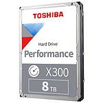 Toshiba X300 - 8 To - 256 Mo