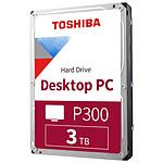 Toshiba P300 - 2 x 3 To (6 To) - 64 Mo