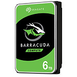 Seagate BarraCuda - 6 To - 256 Mo