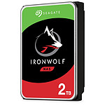 Seagate IronWolf - 2 To - 64 Mo - Pack de 4