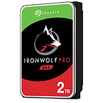 Seagate IronWolf Pro - 2 x 2 To (4 To) - 128 Mo