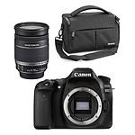 Canon EOS 80D + EF-S 18-200mm f/3.5-5.6 IS + Cullmann Malaga Maxima 70