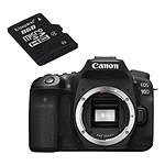 Canon EOS 90D + Kingston micro SD 8 Go