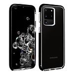 Akashi Coque (transparent) avec bordures noires renforcées - Samsung Galaxy S20 Ultra