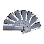 G.Skill Trident Z Silver / White - 8 x 16 Go (128 Go), DDR4 3300 MHz, CL16