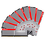 G.Skill Trident Z Silver / Red - 8 x 8 Go (64 Go) - DDR4 3000 MHz - CL14