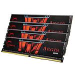 G.Skill Aegis - 4 x 16 Go (64 Go) - DDR4 2400 MHz - CL15