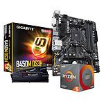 AMD Ryzen 5 3600 + Gigabyte B450M DS3H + G.Skill 2 x 8 Go 3600 MHz