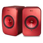 KEF LSX Wireless - Rouge