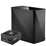 Fractal Design ERA ITX - Noir + Seasonic Focus Plus SGX-450 - Gold