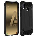 Akashi Coque angles renforcés (noir) - Samsung Galaxy A20E