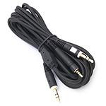 2 câbles Jack 3,5 mm pour PC casque et micro - 3 m