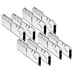 G.Skill Trident Z Royal Silver RGB - 8 x 32 Go (256 Go) - DDR4 3600 MHz - CL16
