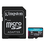 Kingston Canvas Go! Plus SDCG3/64GB
