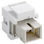 Coupleur fibre optique SC Simplex pour boitier réseau type Keystone