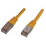 Cable RJ45 Cat 6 F/UTP (jaune) - 1 m