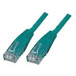 Cable RJ45 Cat 6 U/UTP (vert) - 7,5 m