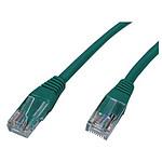 Cable RJ45 Cat 5e U/UTP (vert) - 0,5 m