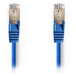 Cable RJ45 Cat 5e F/UTP (bleu) - 1 m