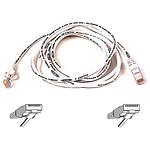 Cable RJ45 Cat 5e U/UTP (blanc) - 5 m
