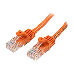 Cable RJ45 Cat 5e U/UTP (orange) - 1 m