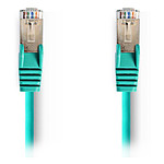 Cable RJ45 Cat 5e S/FTP (vert) - 7,5 m