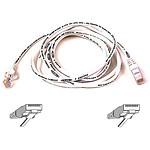 Cable RJ45 Cat 5e U/UTP (blanc) - 0,5 m