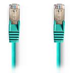 Cable RJ45 Cat 5e F/UTP (vert) - 0,5 m