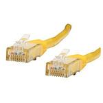 Cable RJ45 Cat 6 U/UTP (jaune) - 10 m