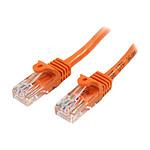 Cable RJ45 Cat 5e U/UTP (orange) - 2 m