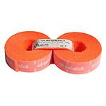 Bandes auto-agrippantes prédécoupées par 2 (orange) - 2,5 m