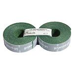 Bandes auto-agrippantes prédécoupées par 2 (vert) - 2,5 m