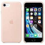 Apple Coque en silicone (Rose) - iPhone SE (2020)