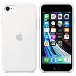 Apple Coque en silicone (Blanc) - iPhone SE (2020)