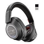 Plantronics Voyager 8200 UC USB-A (Noir) - Casque sans-fil