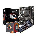 AMD R5 1600AF - MSI B450 - RAM 16Go 3200MHz